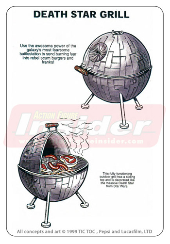 All the Gear for a Star Wars BBQ