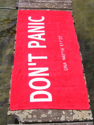 The Hitchhiker's Guide to the Galaxy Towel