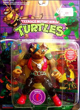 Teenage Mutant Ninja Turtles Bebop Taxidermy
