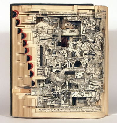Utterly Amazing Book Sculptures