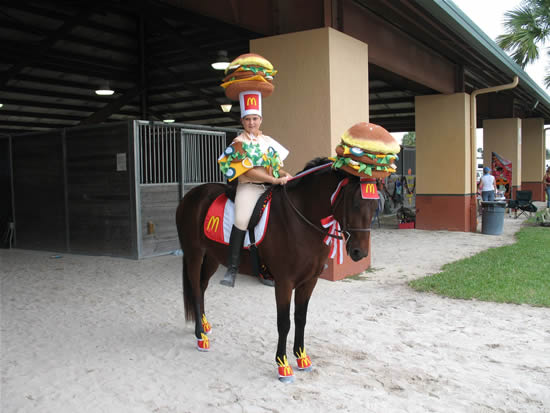 Harry Potter Horse & The Downright Creepy Costumes for Ponies