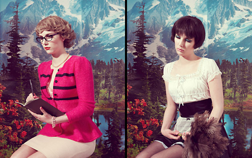 Kitsch Model Photography, Kourtney Roy