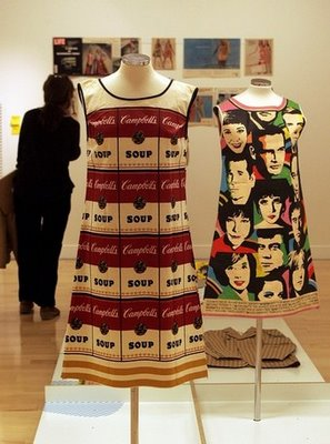 The Must-See Andy Warhol Dress. I'd Wear It.