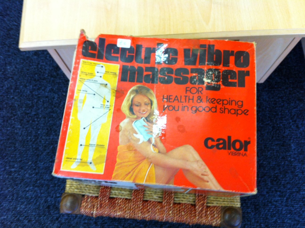 Electro Vibro Massager & other Charity Shop Goodies