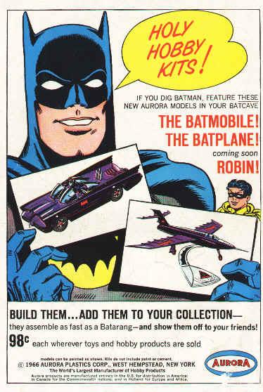 Holy Hobby Kits! 60s' Batman Merch