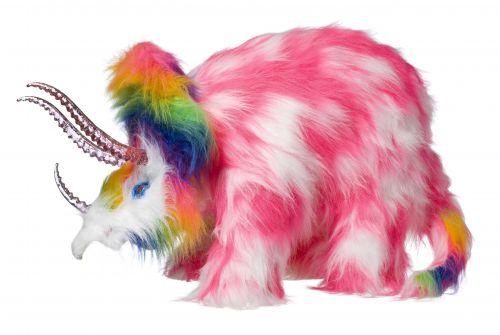 Rainbow Taxidermy Wonders by Kate Rohde