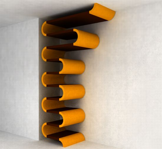 Innovative Shelving Too Cute to Pile Things On