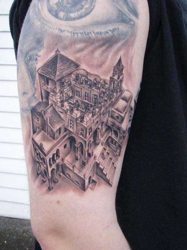 Escher Tattoos The World Of Kitsch