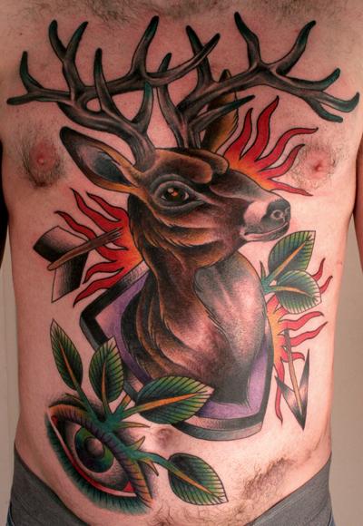Stag & Deer Tattoos