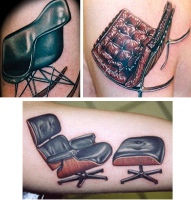 Tattoos of Furniture