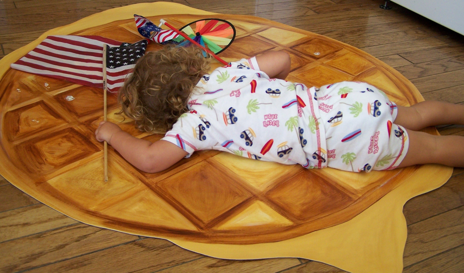 Super Realistic Giant Waffles, Sweeties & Sushi Floor Mats for your Home