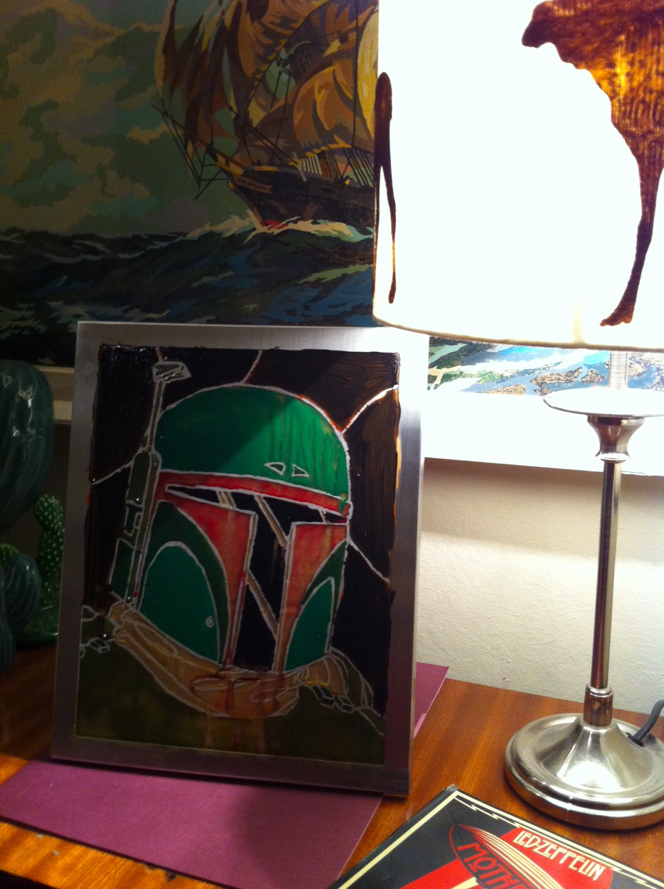 Boba Fett Stained Glass- by Me!