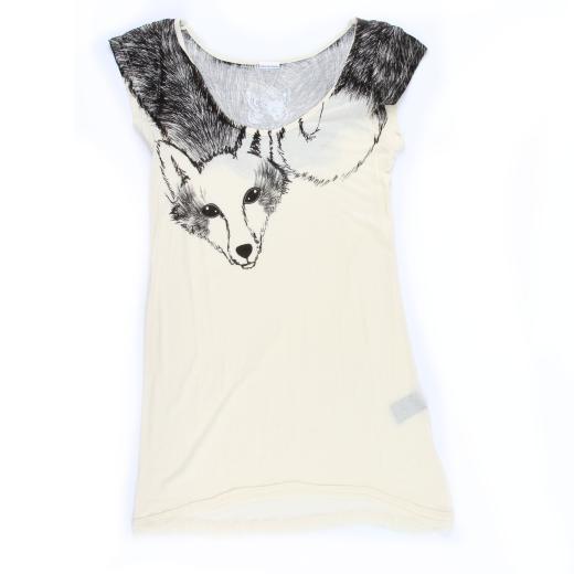 Fox Stole Print Clothing