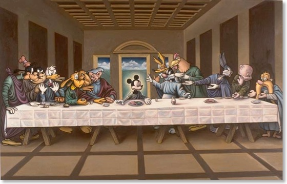 The Last Supper Reimagined