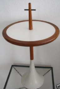 Four Unusual Mid-Century Side Tables