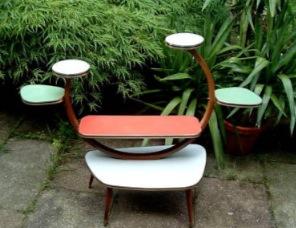 A couple more Jetsons-esque Plant Tables