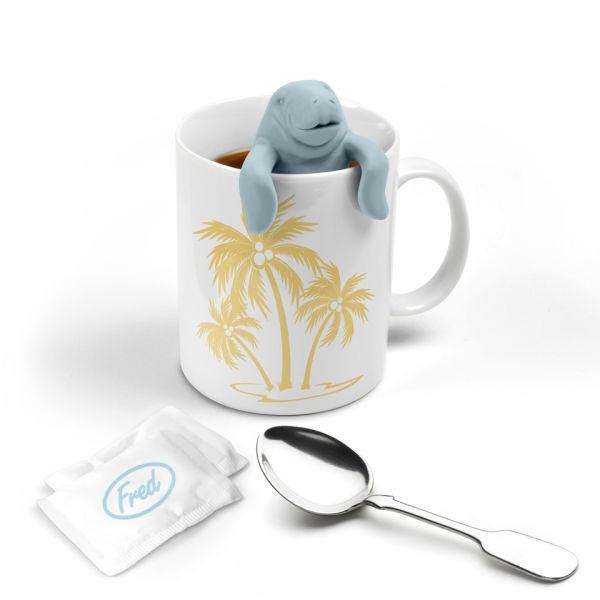 manatee tea strainer