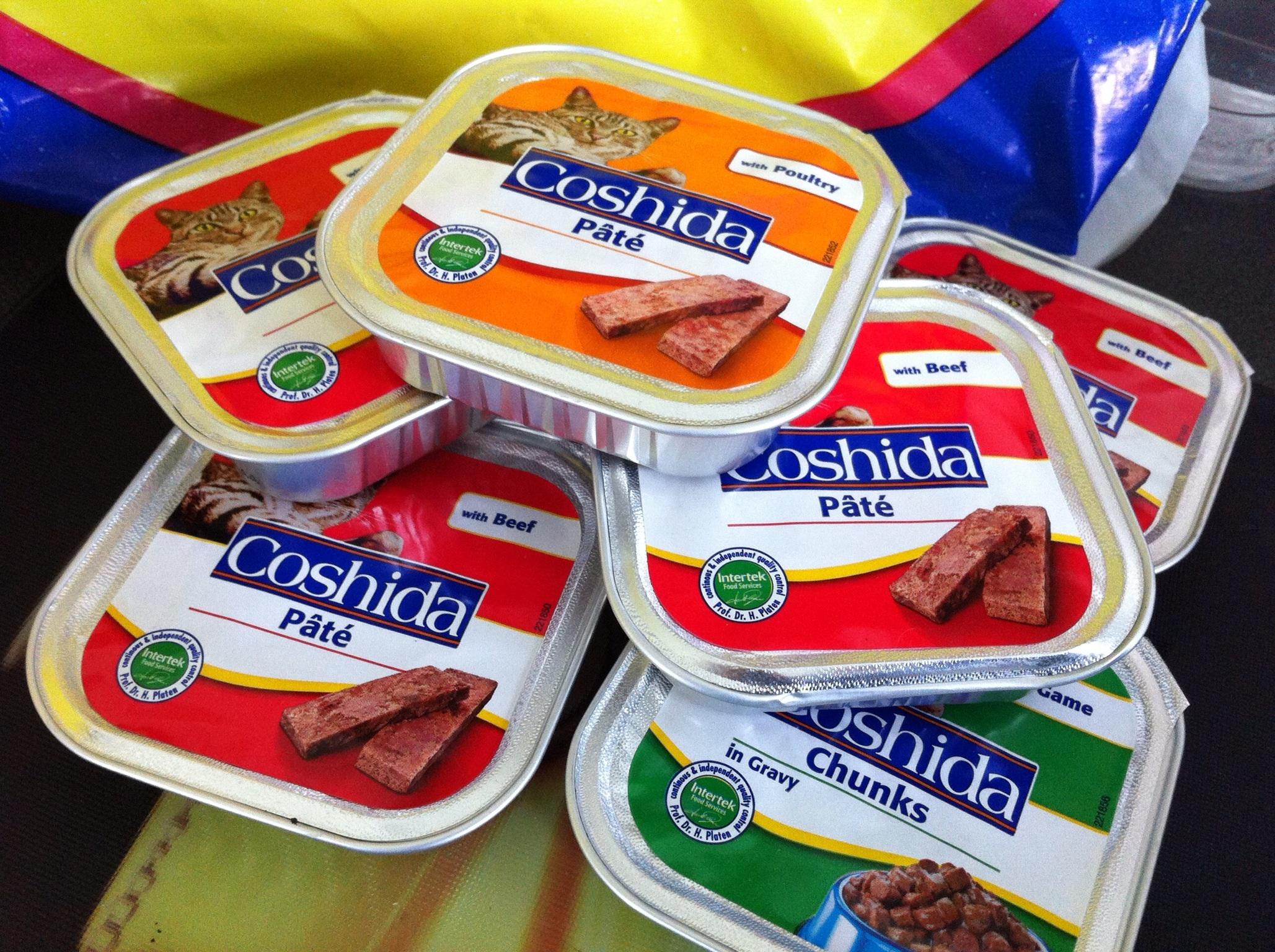 cat food 25p