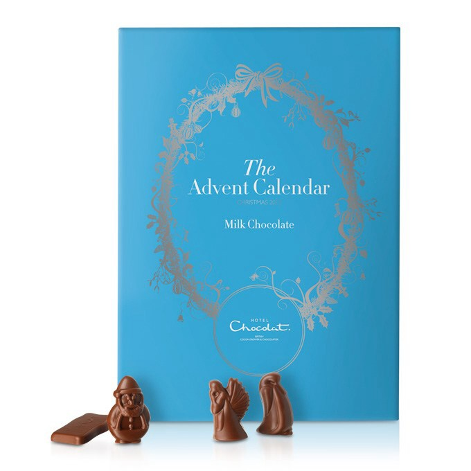 Advent Calendar on half price sale at £6.25 Dark Chocolate variety also available