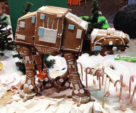 The original which spawned an army of crunchy at-ats
