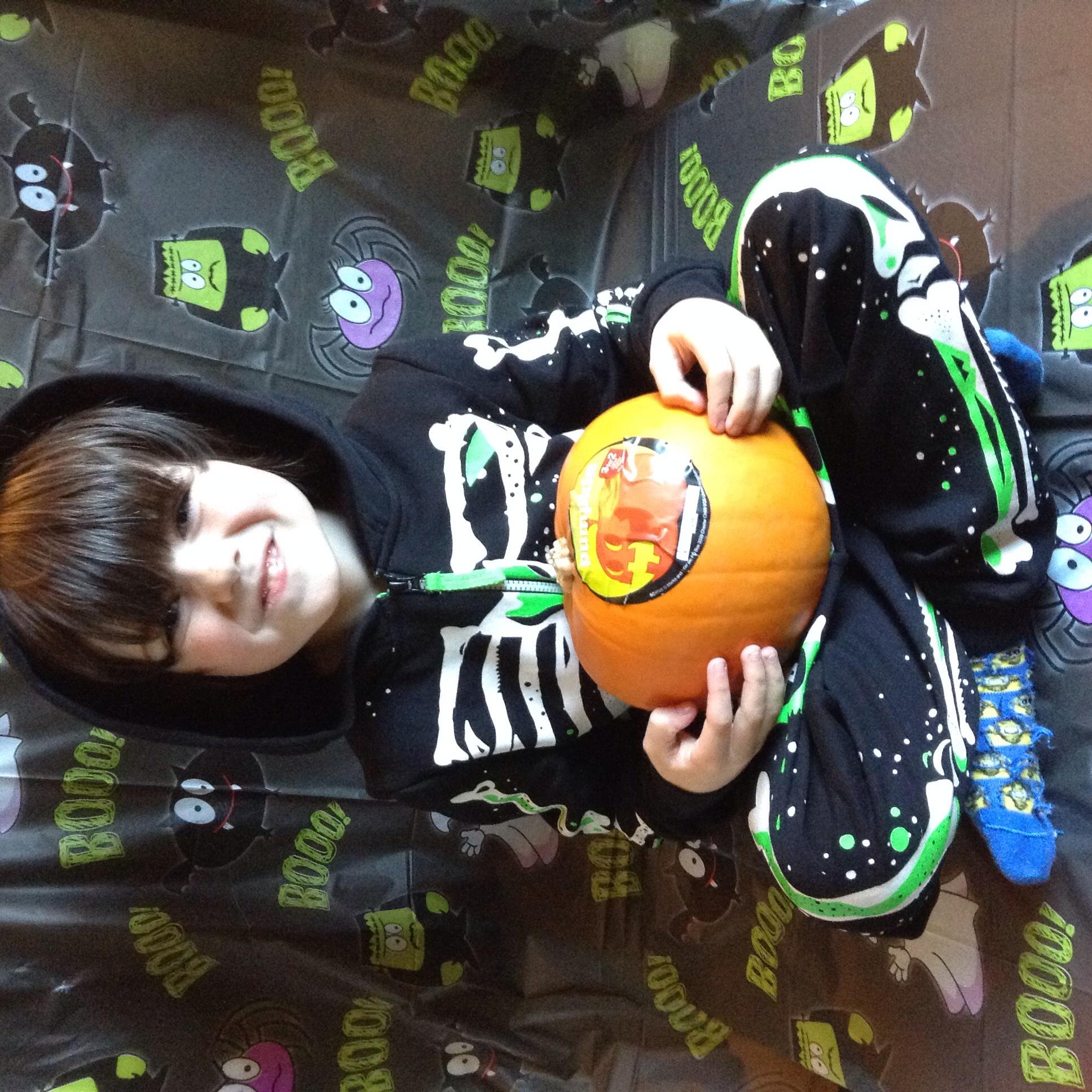 Skeleton hooded onesie, price varies by age starts at £19 - pumpkin £2.00