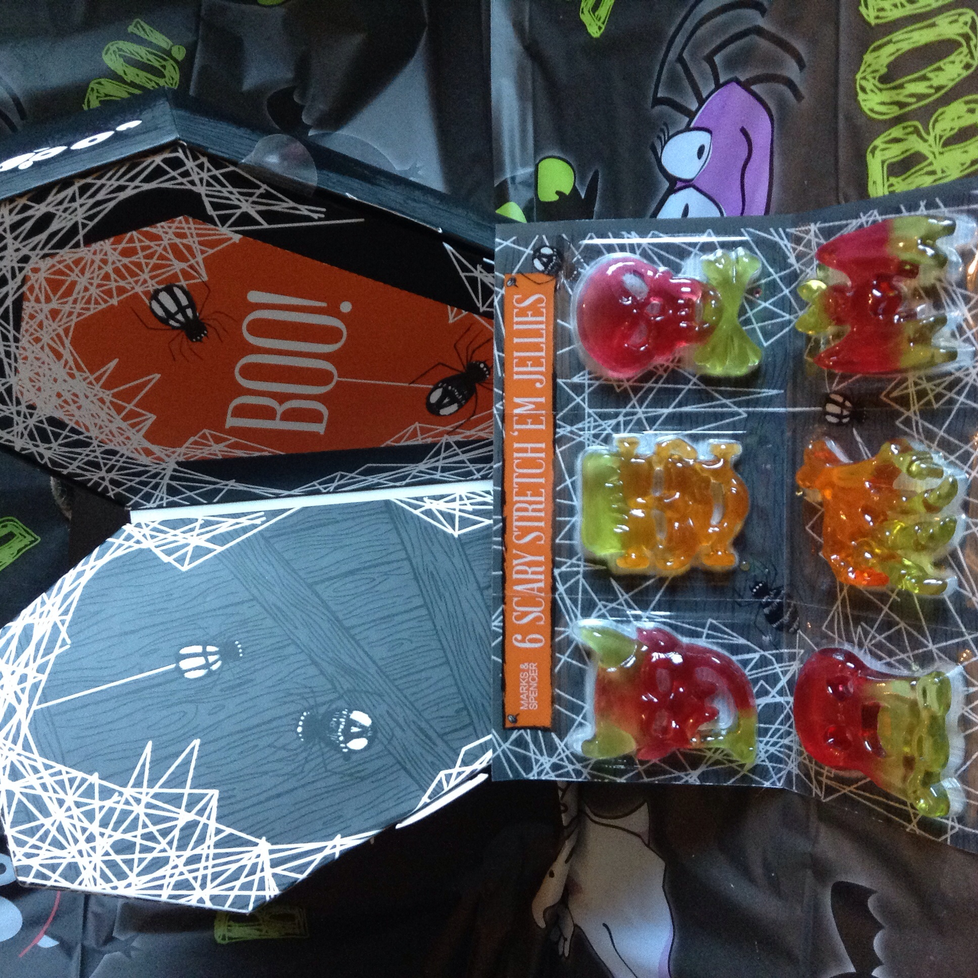 Scary jellies £1.00 JUST like the ones we had with He-Man shapes as kids!