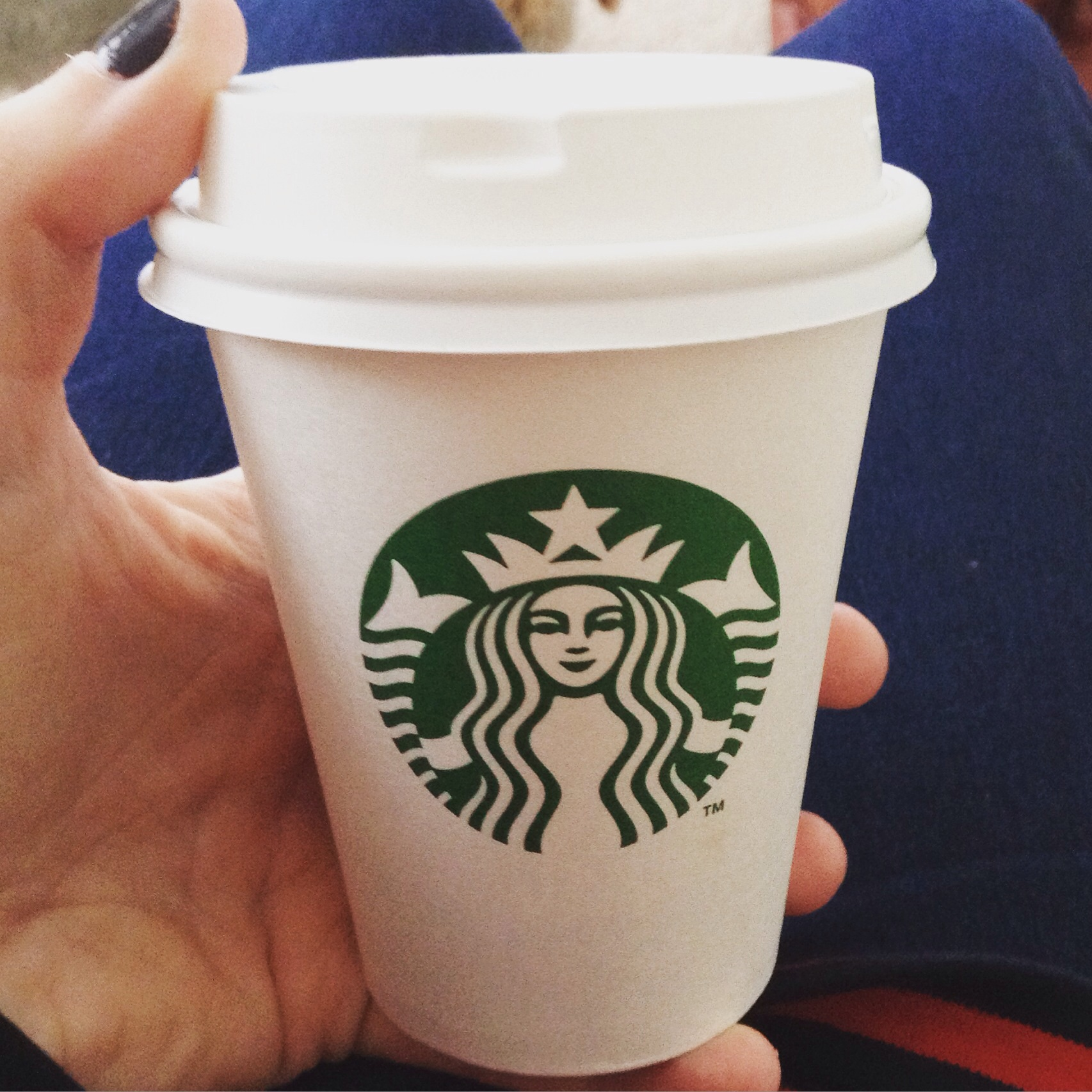 Tiny little takeaway cup