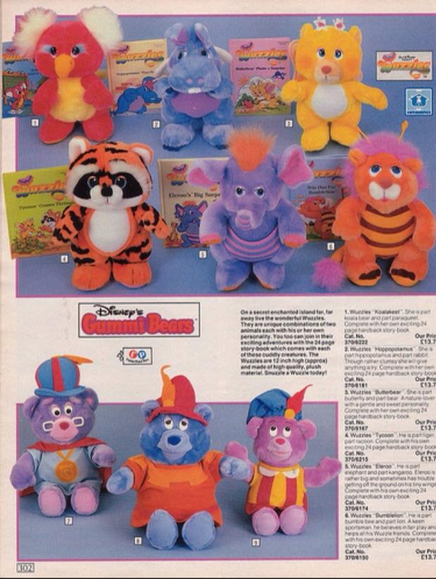 Wuzzles, Gummie Bears