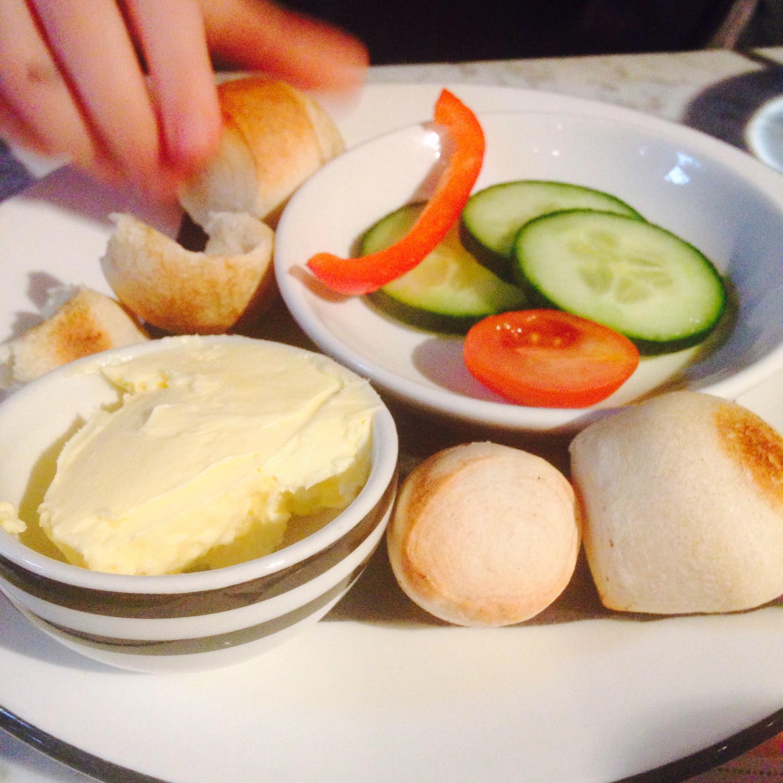 Kids' starter, the famous dough balls
