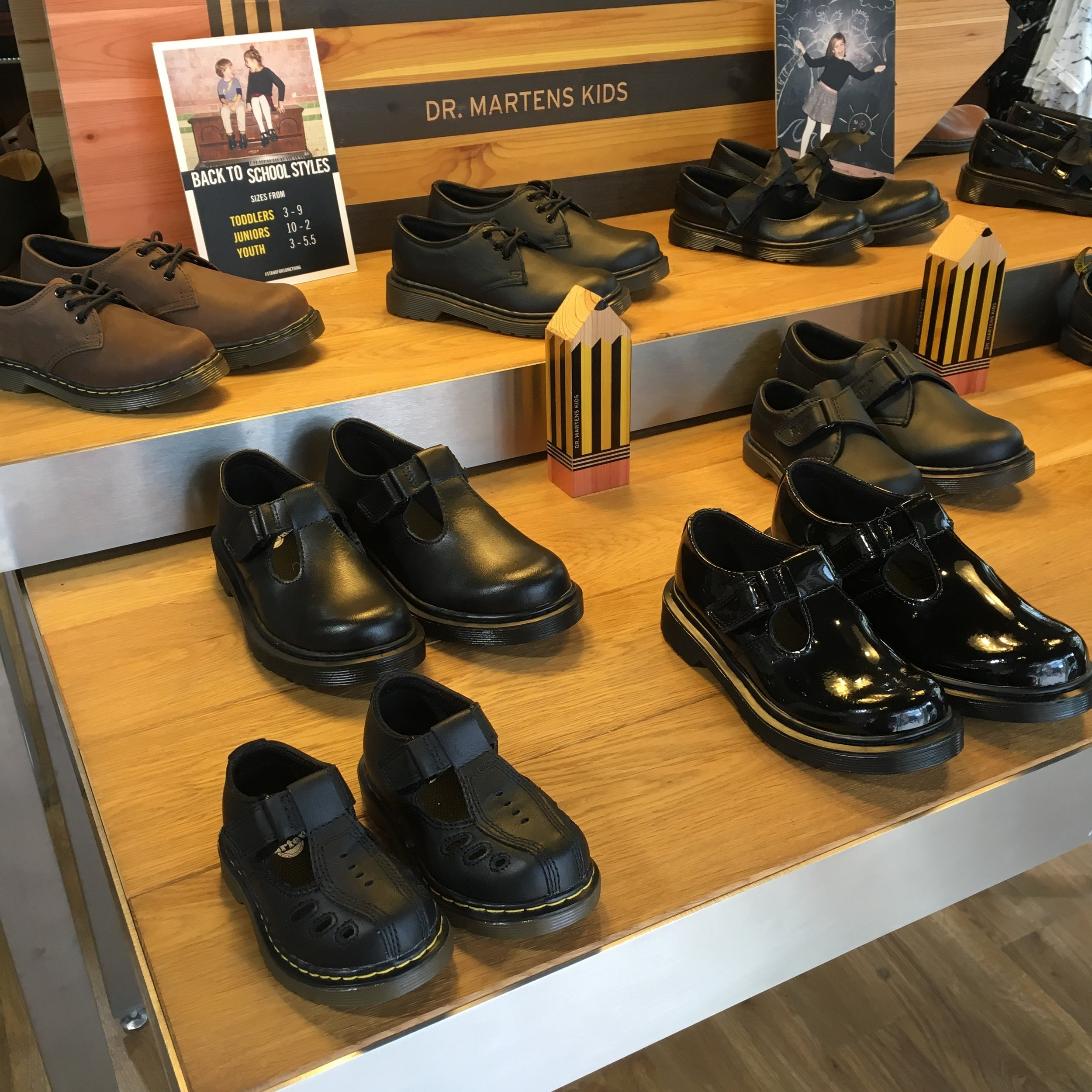 dr martin girls school shoes
