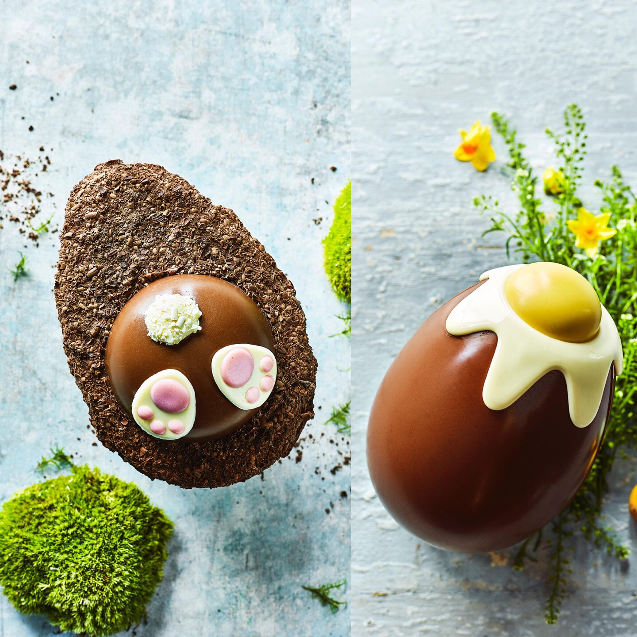 Burrowing Bunny egg and Dippy Egg