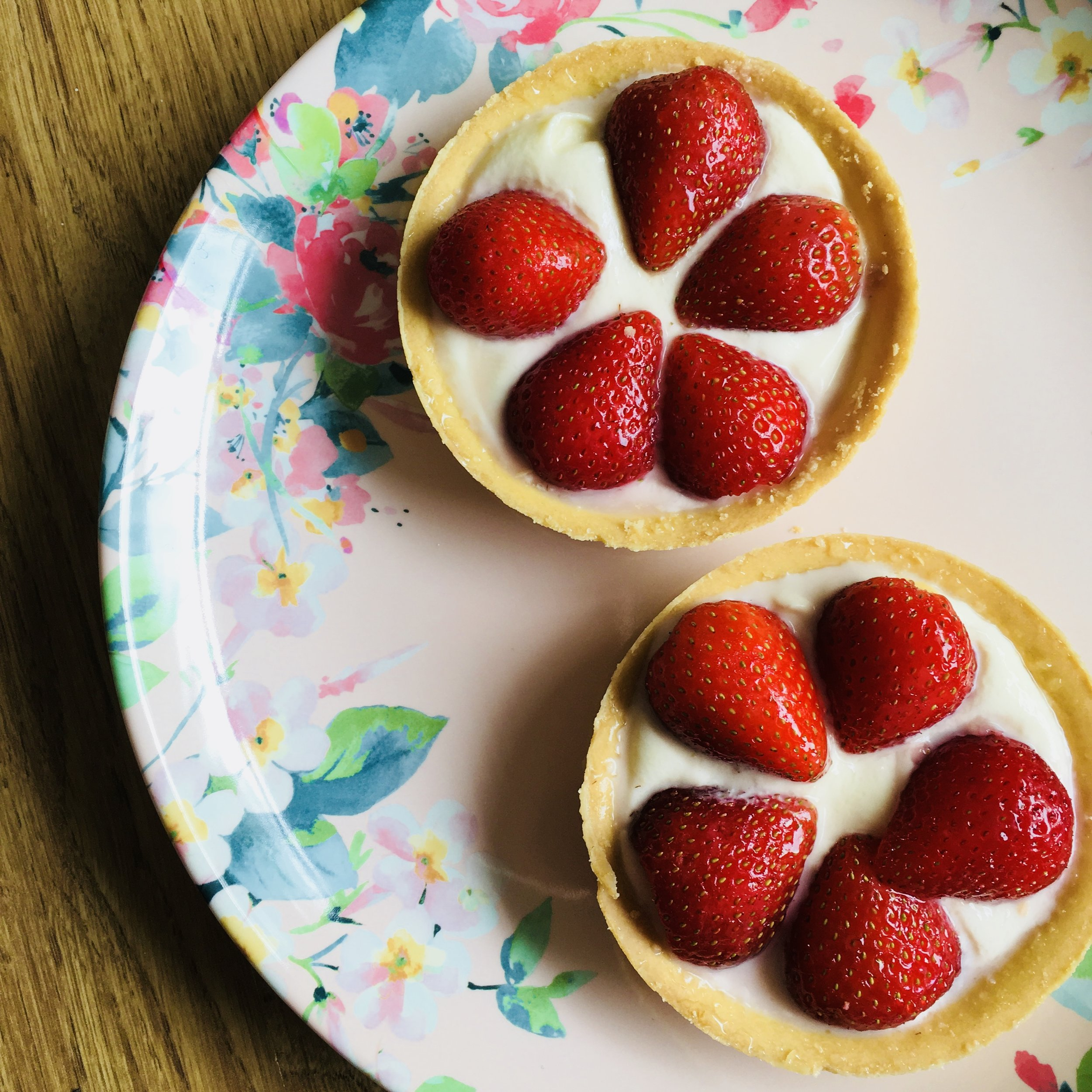 Fresh Strawberry Tart £3.60