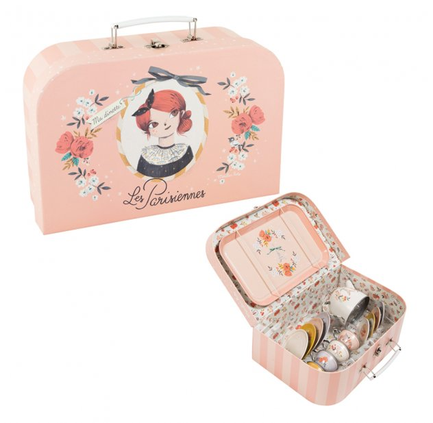 Constance Tea Party Tin Tea Set