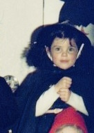 Me being spooky in the 80s
