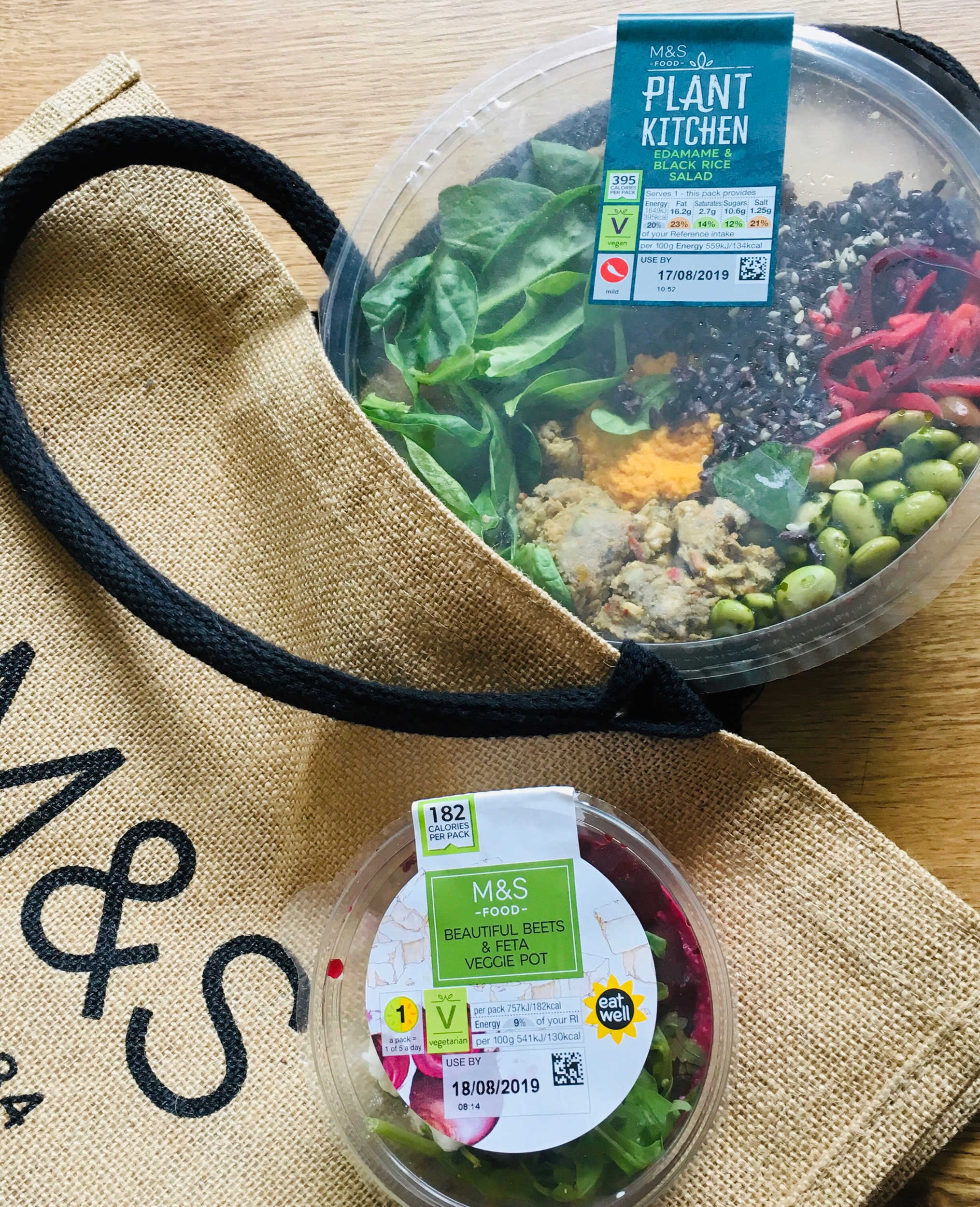 Plant kitchen nourish bowl £3.50 : Beets protein pot £2