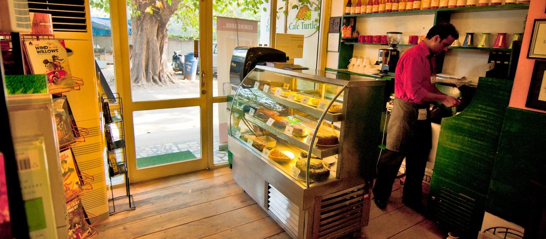 Cafe Turtle, Nizamuddin East