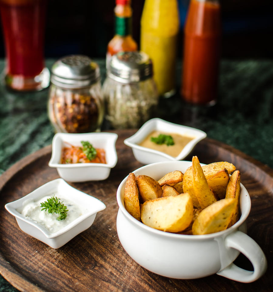 Herby Potato Wedges