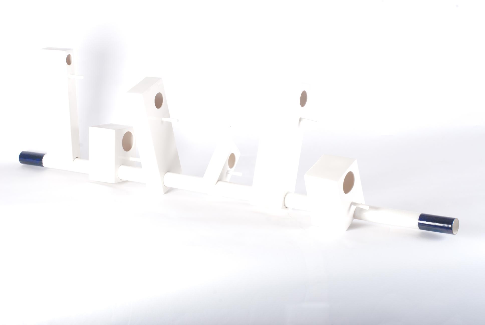 Porcelain Birdhouse Scaffolding