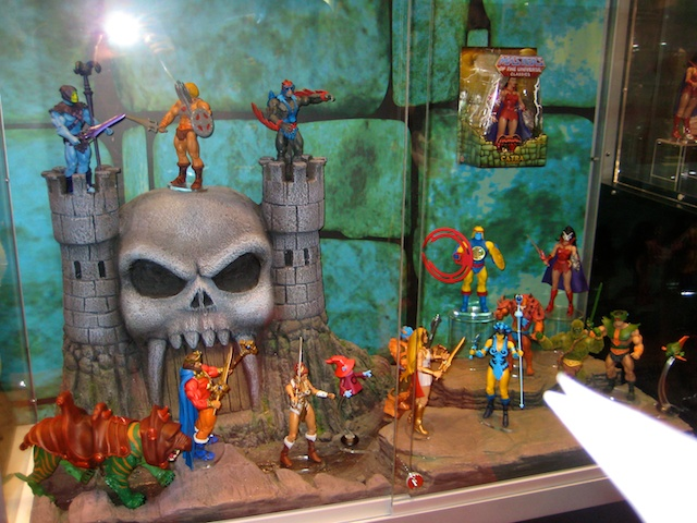 Masters of the Universe Figure Display