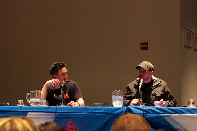 TAPS Ghosthunters Steve Gonsalves and Dustin Pari