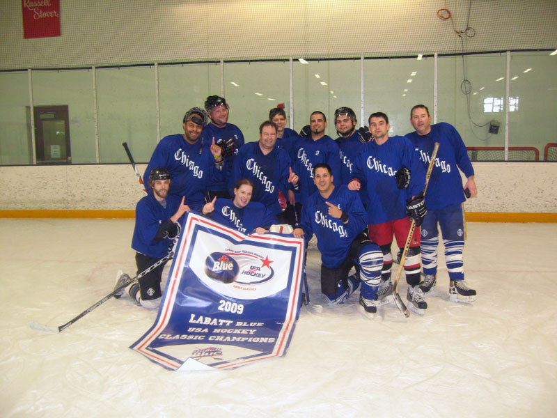Labatt Blue - USA Hockey Tournament Champs