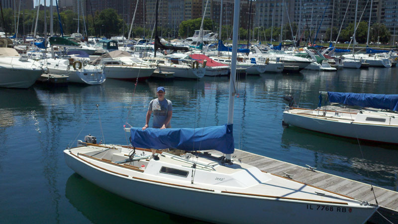 Sailing Lessons on Lake Michigan