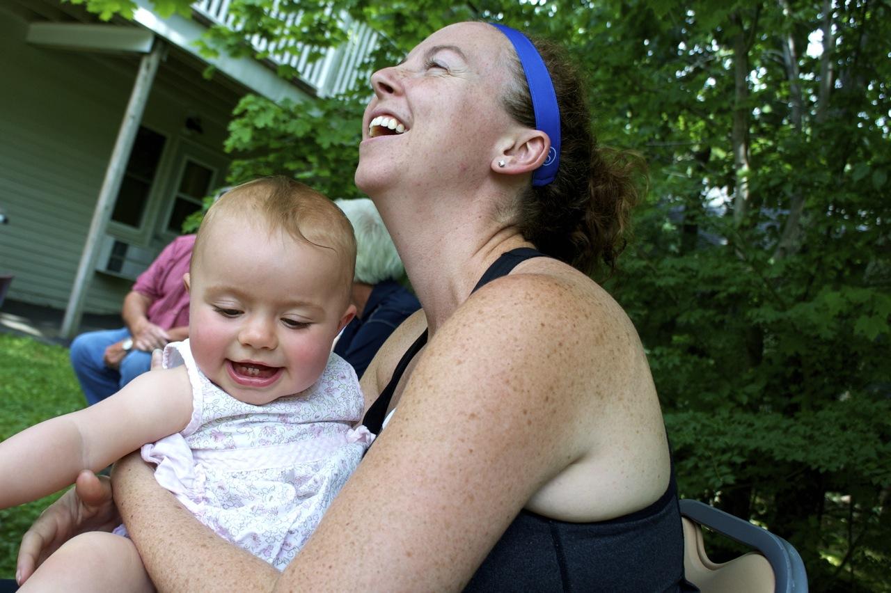 """Joanna and """"Aunt"""" Dani"""