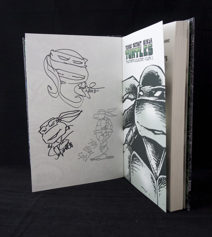 I got so excited when Jim Lawson was drawing this Turtle.