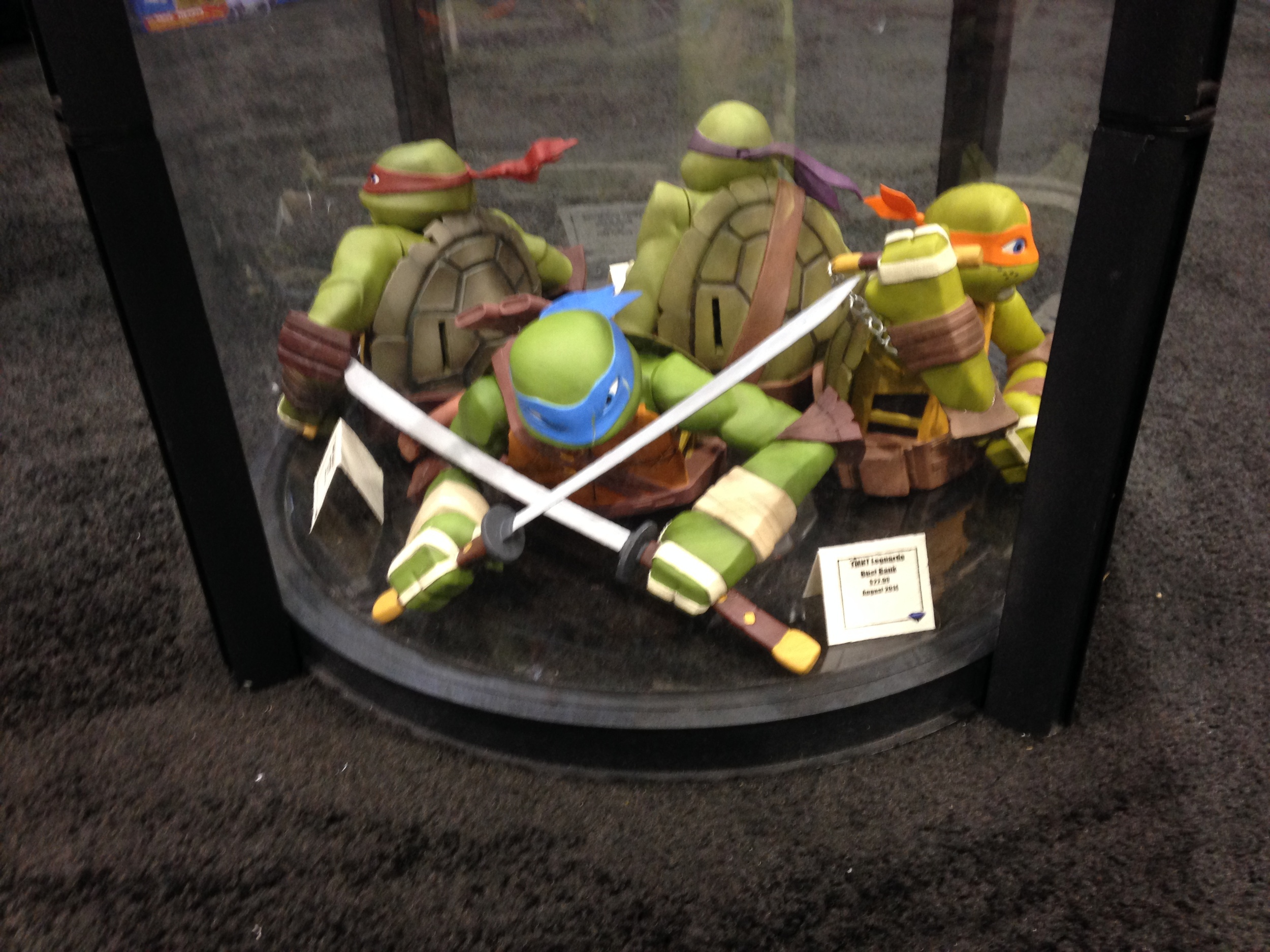 New TMNT banks at Diamond Collectibles
