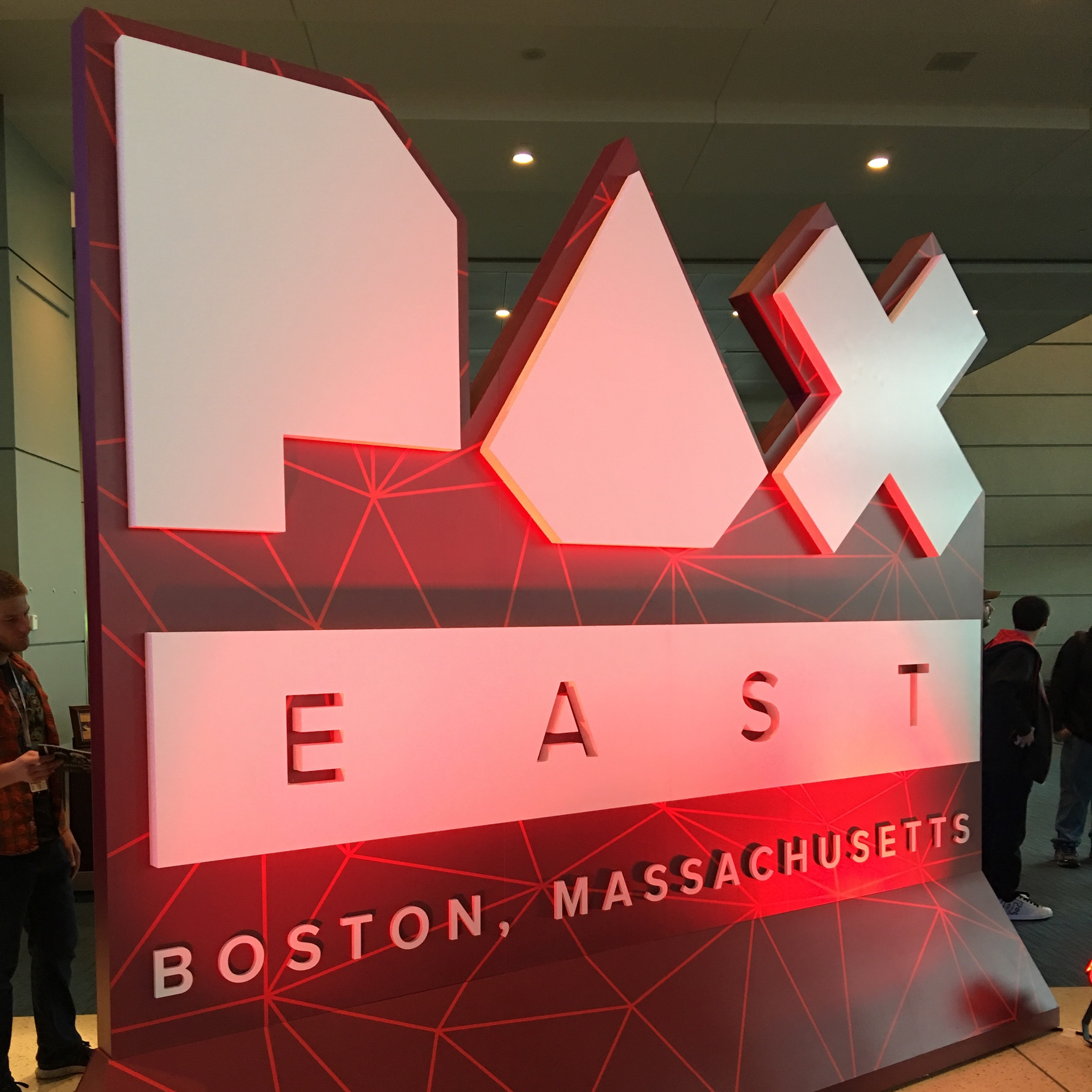 PAX East Entry Sign