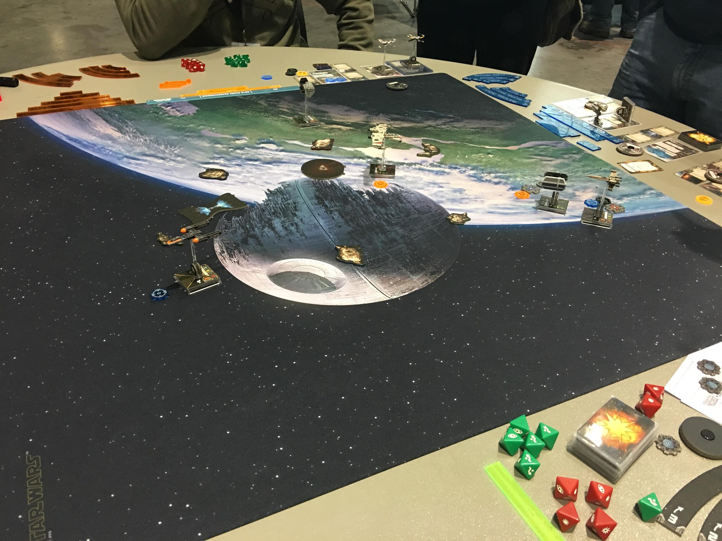X-Wing Battle