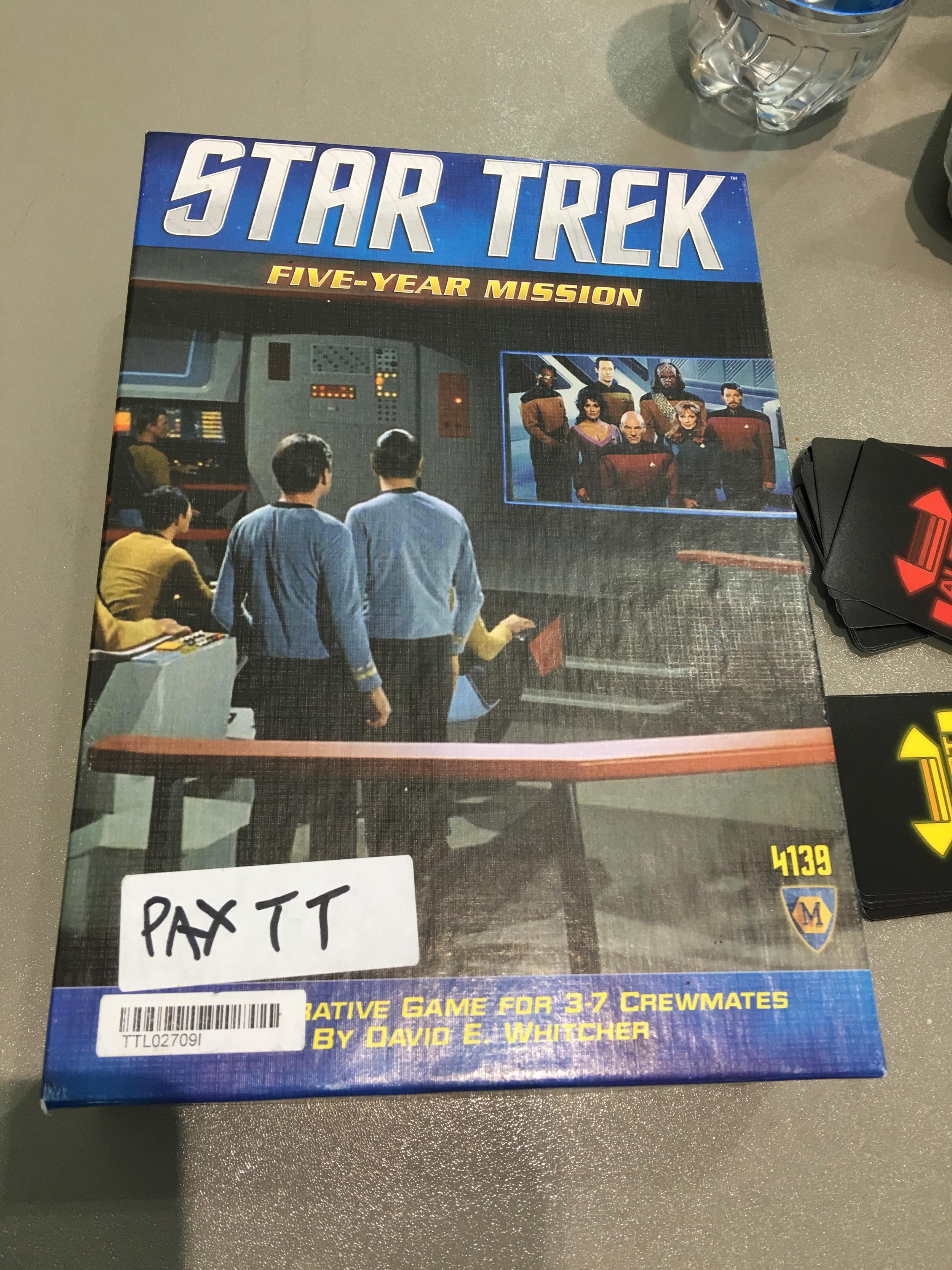 Star Trek - Five Year Misson