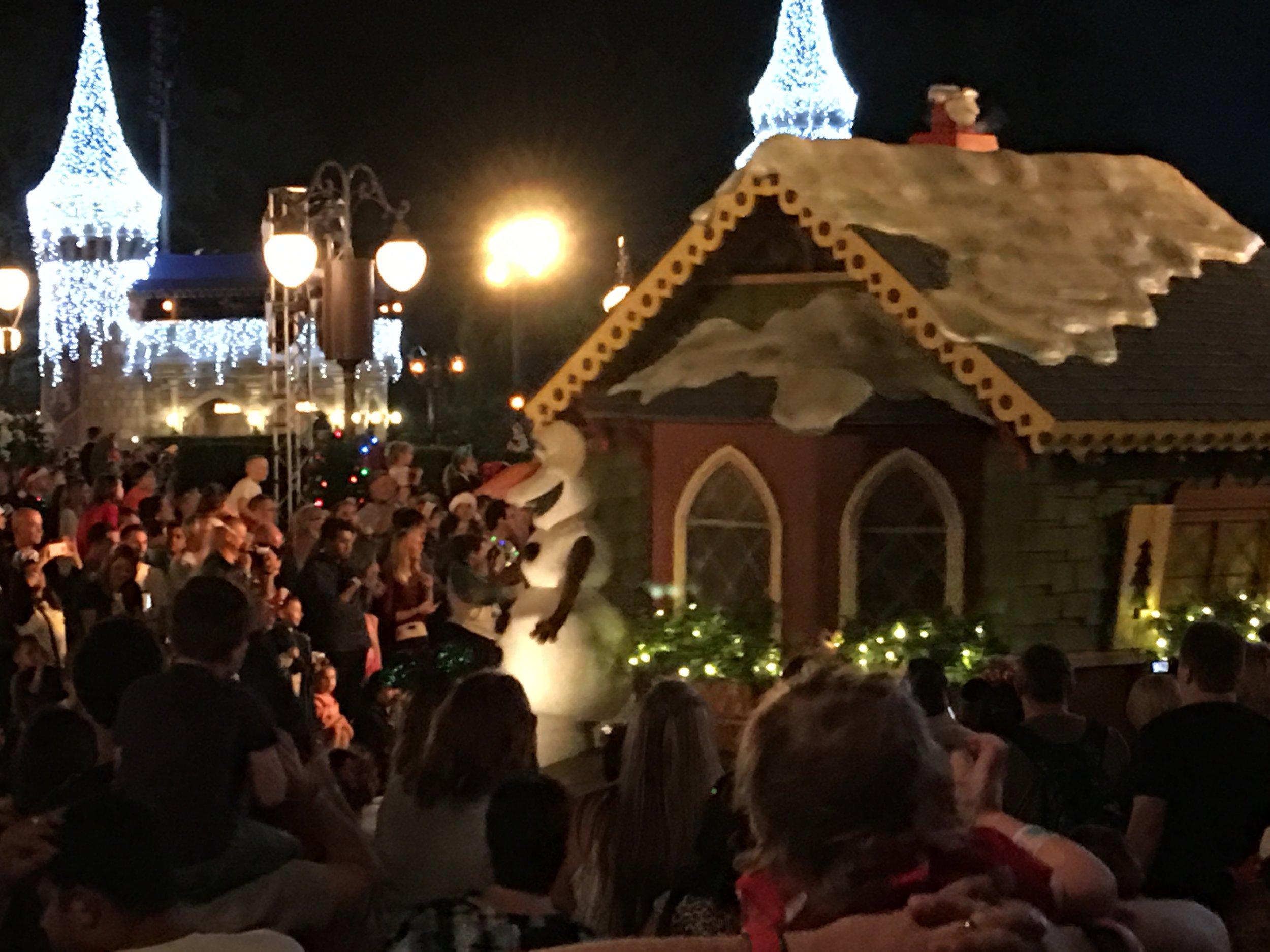 Mickey's Magical Christmas Parade