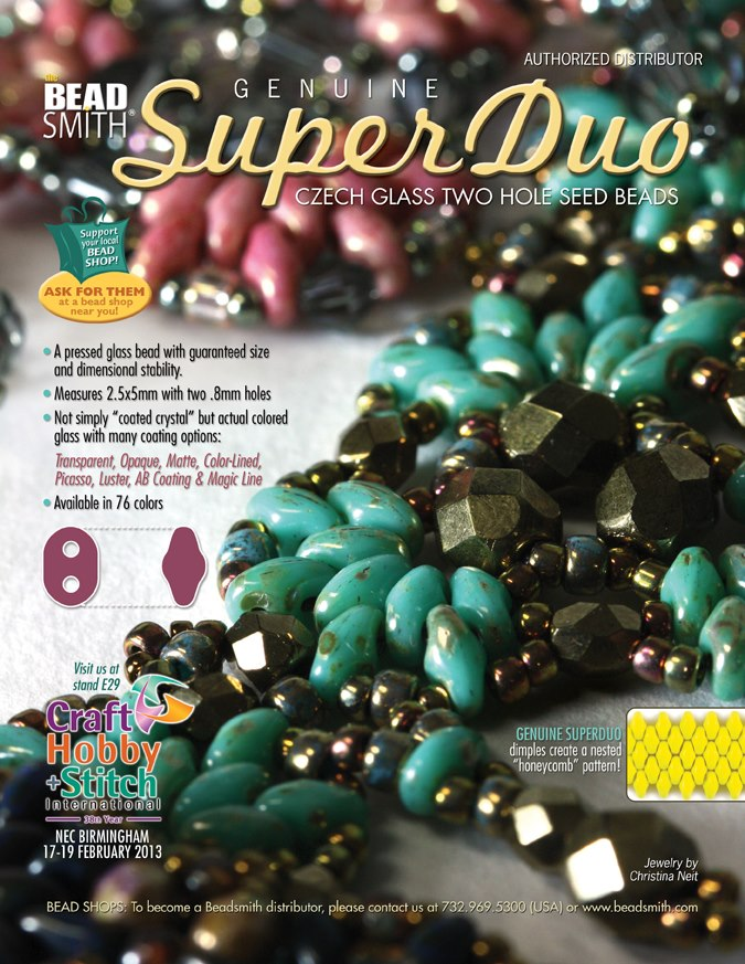 T he Beadsmith UK Make Jewellery Magazine   2013